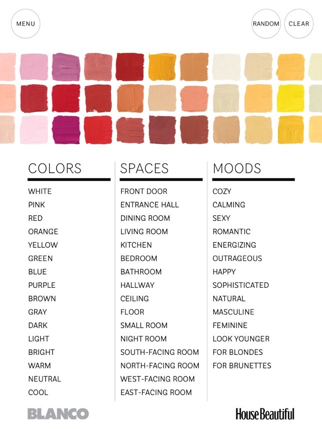 House Beautiful S 500 Favorite Paint Colors On The App Store