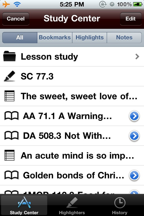 EGW Writings Lite screenshot-4