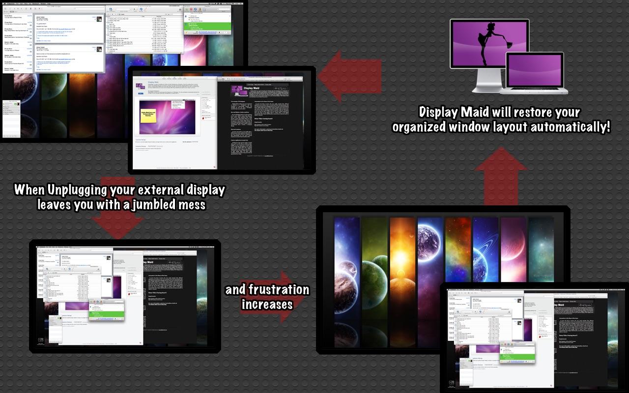 Display Maid 3.2 Mac 破解版 窗口控制还原工具