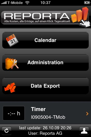 Reporta Time Tracking Lite screenshot-0