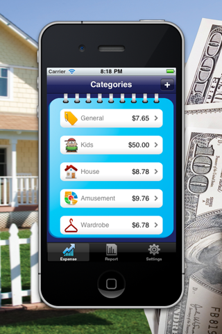 iExpenses Manager HD Lite screenshot two