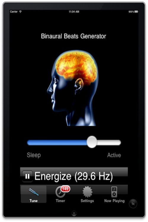 Binaural Beats Generator by Italic Labs LC