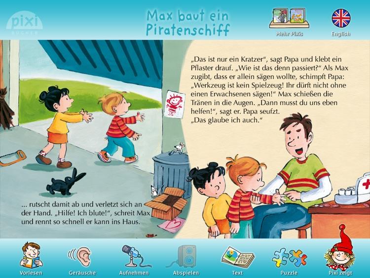 """Pixi Buch """"Max baut ein Piratenschiff"""""""