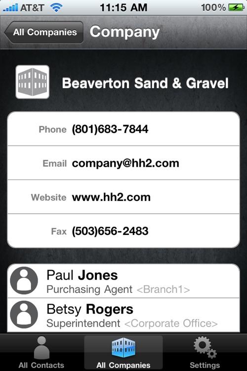 Address Book screenshot-3