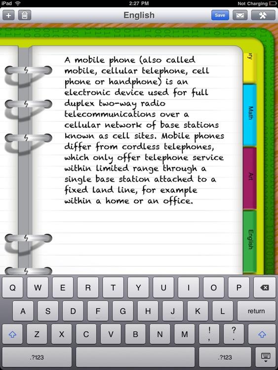Handy Binder screenshot-4