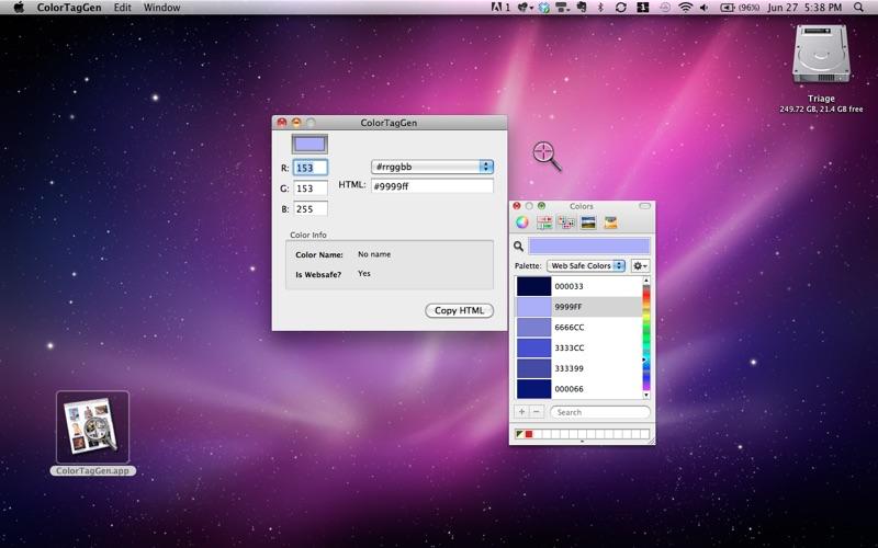 ColorTagGen Screenshot