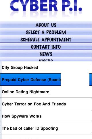 Screenshot of Cyber P.I.