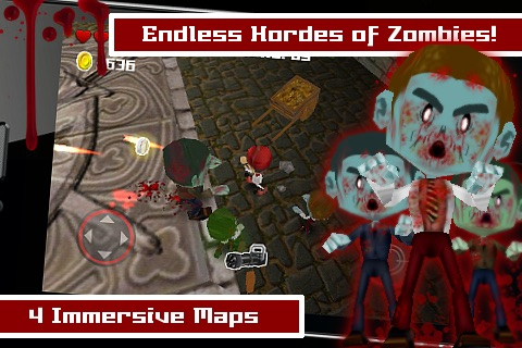 Tsolias Vs Zombies 3D FREE screenshot-1