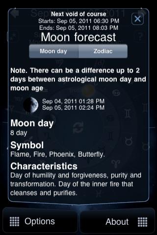 Moon Horoscope Deluxe screenshot-3