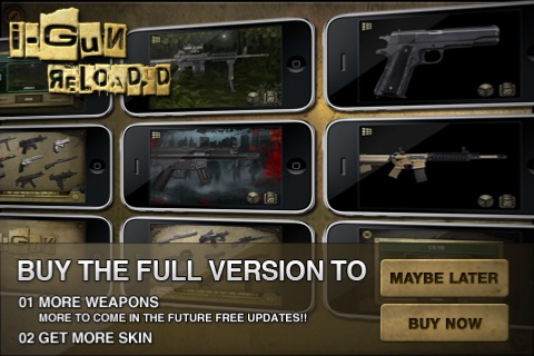 i-Gun Reloaded! Lite screenshot-3