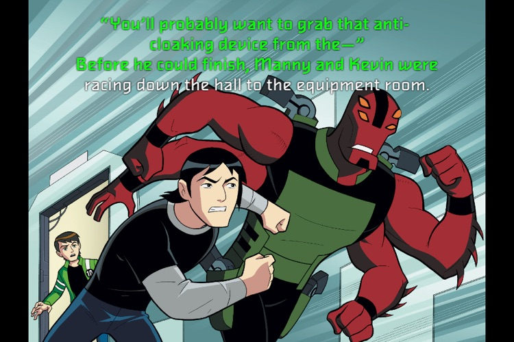 Ben 10 Triple Threat - Children's Book