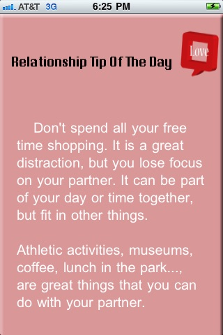 Relationship Tip Of The Day