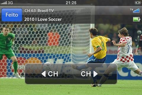 Tivizen Mobile TV Viewer for SBTVD