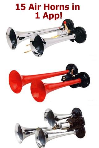 15 Air Horns in 1