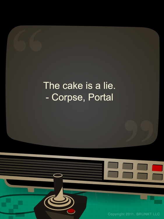 Video Game Quotes HD