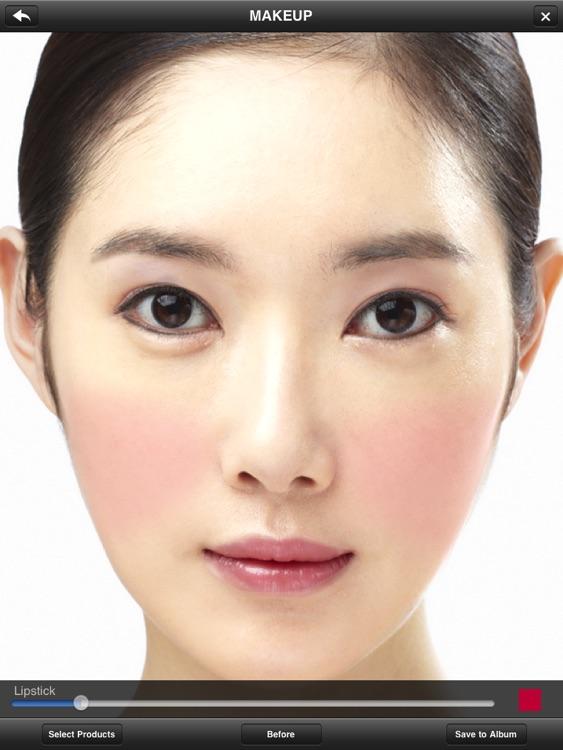 Makeup Simulator HD screenshot-4
