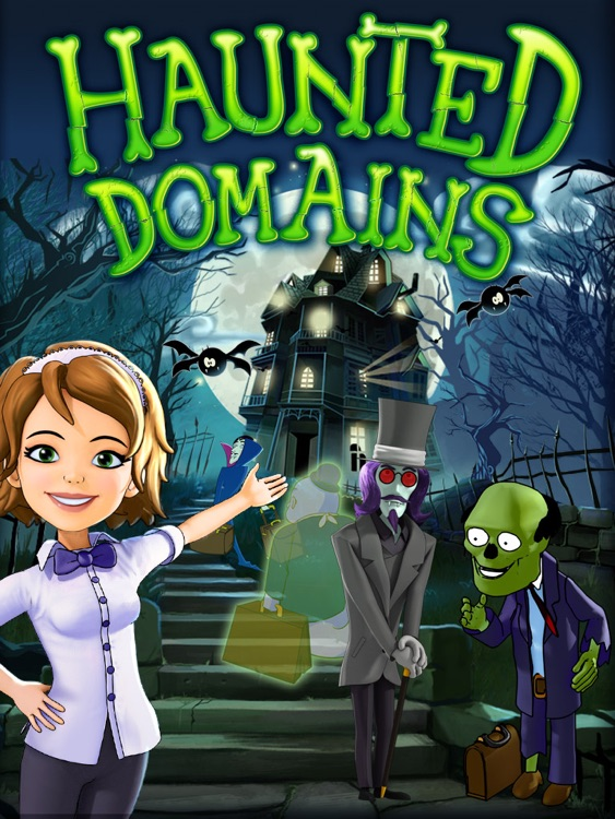 Haunted Domains HD screenshot-0