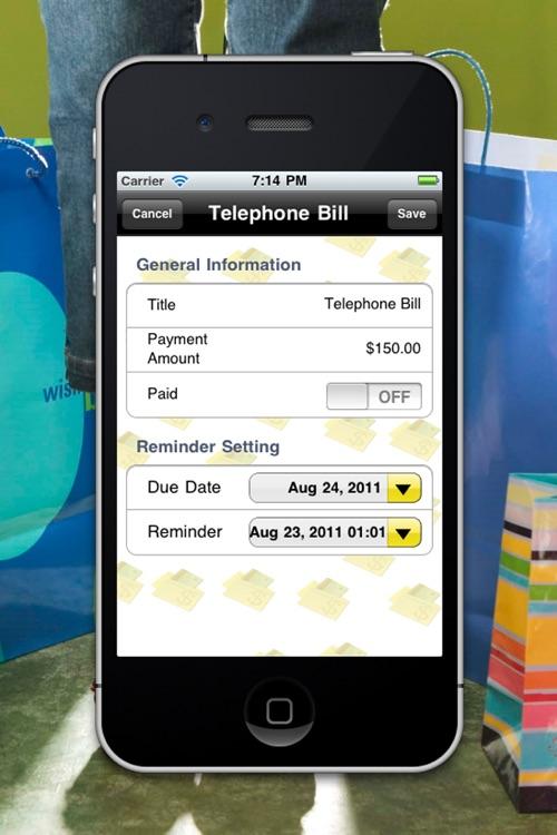Bill Tracker HD Lite