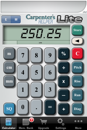Carpenter S Helper Lite Free Construction Calculator 4