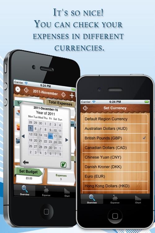 Expenses Tracker Lite screenshot-4