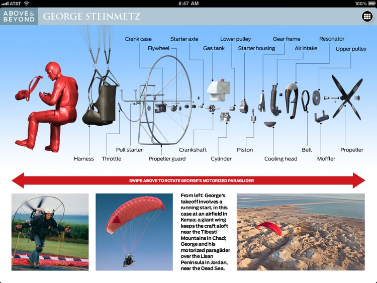 Above & Beyond: George Steinmetz screenshot-4