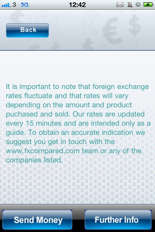 Foreign Currency Compare screenshot-3