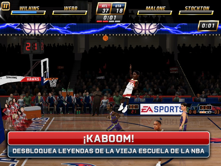 NBA JAM by EA SPORTS™ for iPad screenshot-4