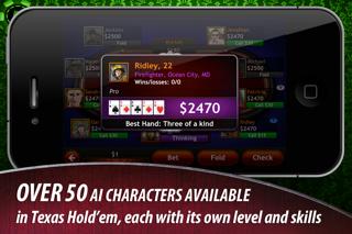 Texas Hold'em for iPad screenshot1