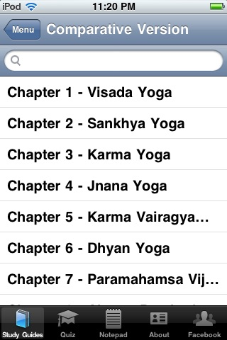 The Bhagavad Gita In Plain and Simple English screenshot-1