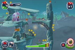 Screenshot #2 pour Worms Crazy Golf