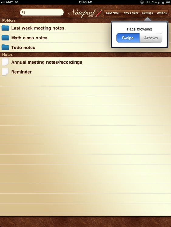 NotePad Pro for iPad screenshot-0