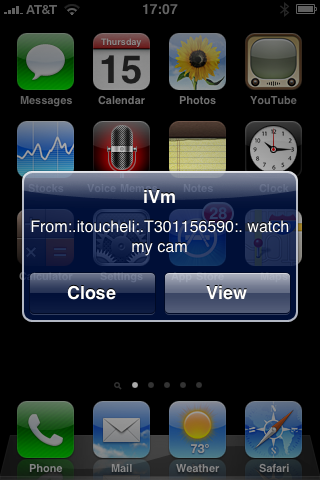 IVM Cam-to-Cam Messenger for ALL screenshot two