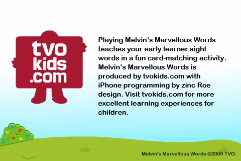Melvin's Marvellous Words screenshot-3