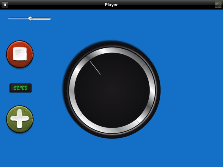 Big Volume Wheel for iPad (w/Mute) screenshot-3
