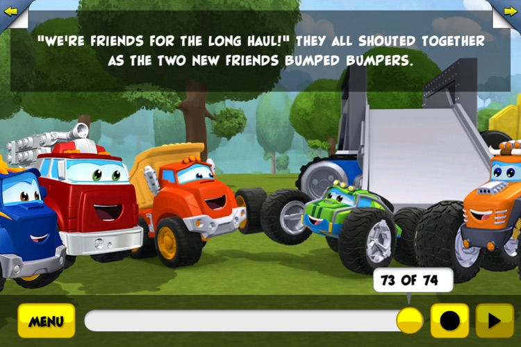 Chuck and Friends: Friends for the Long Haul screenshot-3