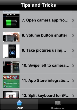 Tips and tricks for iOS 5 FREE screenshot-0