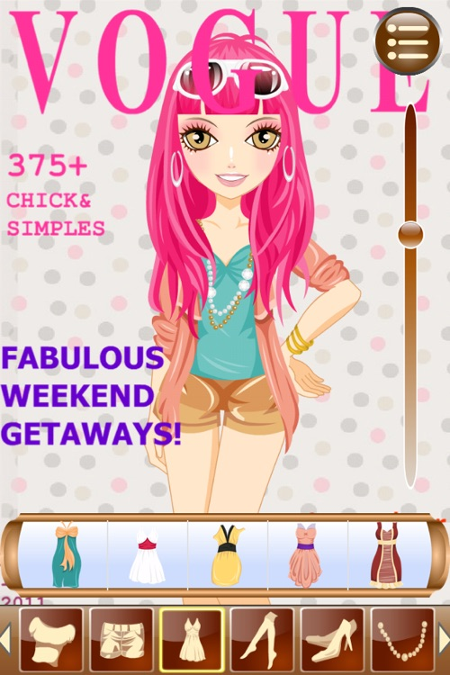 Cover Girl - Dress up and makeup game screenshot-3