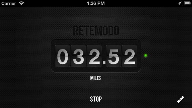 Retemodo - The Reverse Odometer screenshot-3