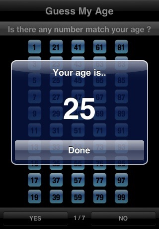 Guess My Age  Math Magic