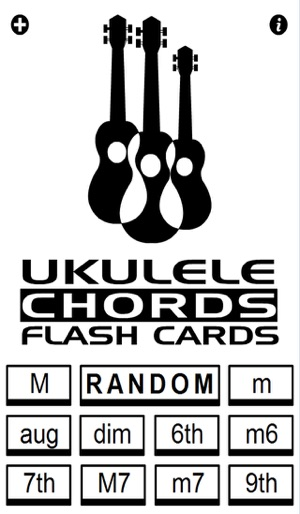 Ukulele Chords Flash Cards on the App Store