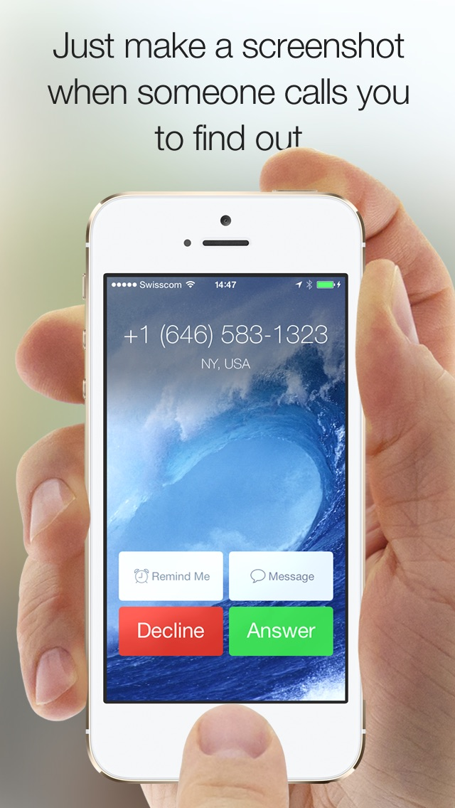 RingRing - Who's calling me from this number? Reverse Lookup Directories for unknown Caller ID & Phone Numbers (Cell and Landline) app image