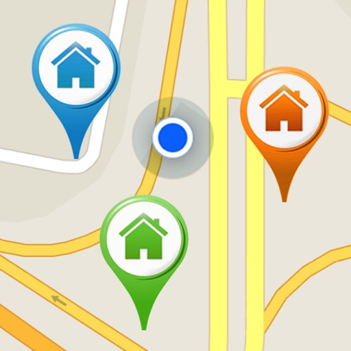 Map For Contacts icon