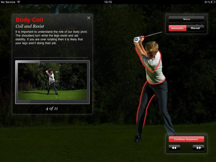 Golf Coach Power for iPad screenshot-4