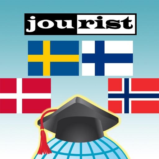 مفردات بناء jourist: شمال اوروبا icon