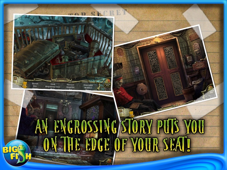 Mystery Case Files: Return to Ravenhearst HD screenshot-3