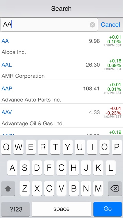 Stock Company Profile : Key Financial Info Check, Real Time Quote (include pre/after hour), News and Unlimited Watch List Management screenshot-4