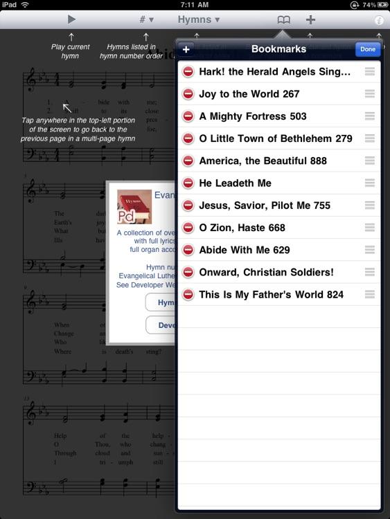 Evangelical Lutheran Hymnal screenshot-3