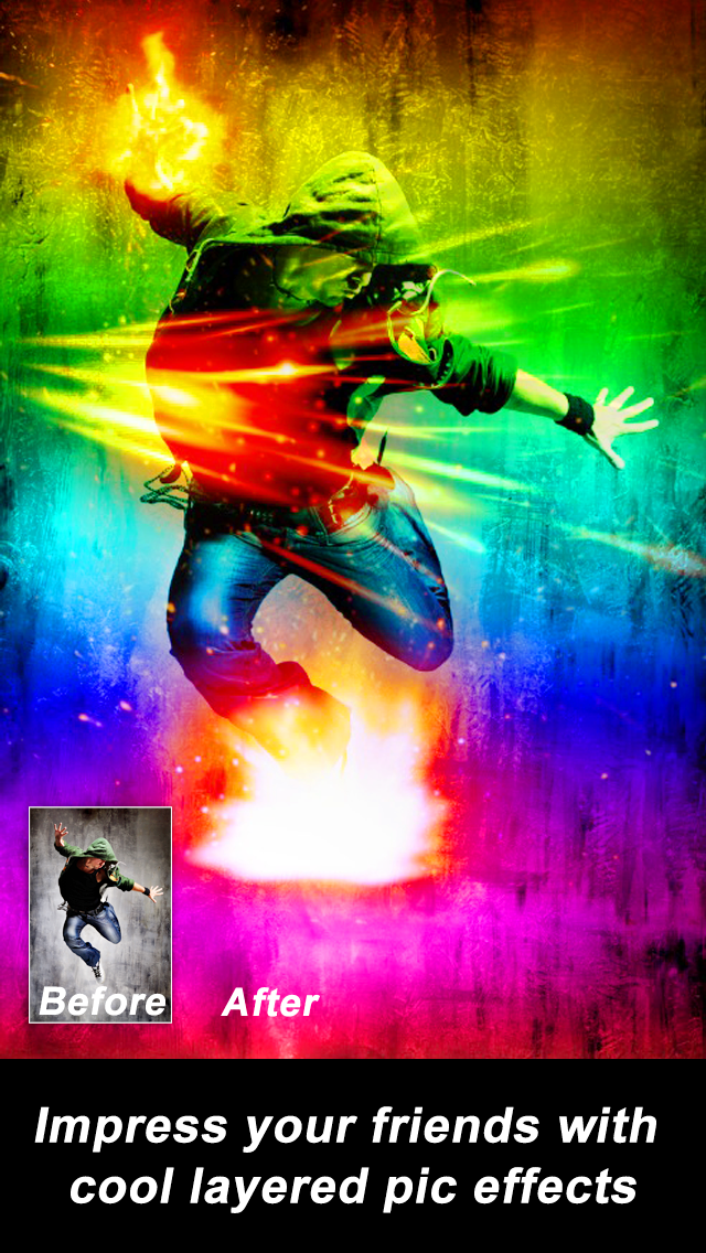SpaceEffect - Awesome Pic & Fotos FX Editor FREE Screenshot