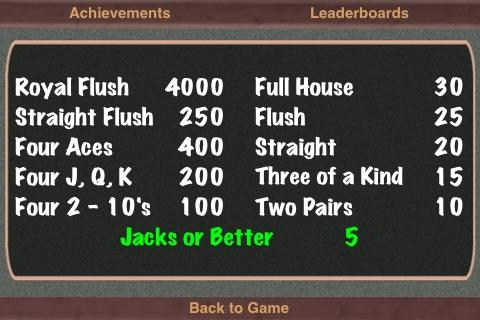 TouchPlay Bonus Poker Video Poker screenshot-3