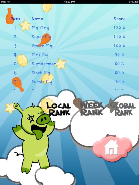 Attacking Birds vs Scared Piggies HD Free screenshot-4